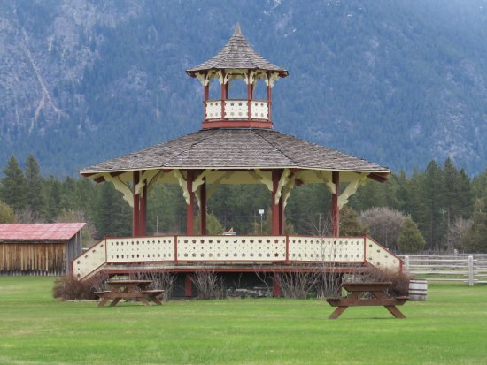 Fort Steele, Canadá: A great bandshell for summer activities