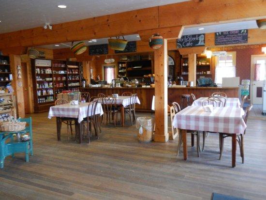 Fort Steele, Canadá: A nice cafe for snacks