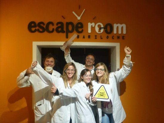 Los gadget fotograf a de escape room bariloche san for Escape room gadgets