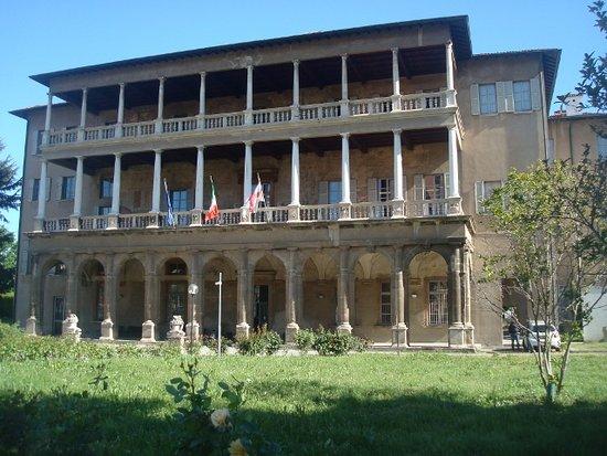 Villa Simonetta : Vista del frontespizio