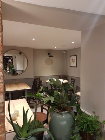 The cosy restaurant