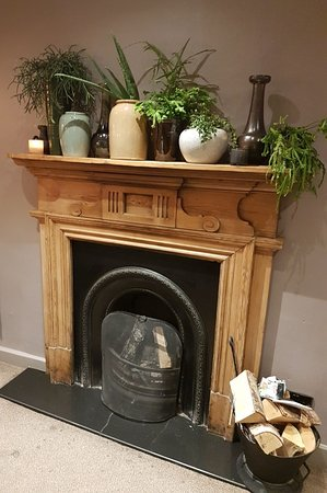 Ferns and fireplaces