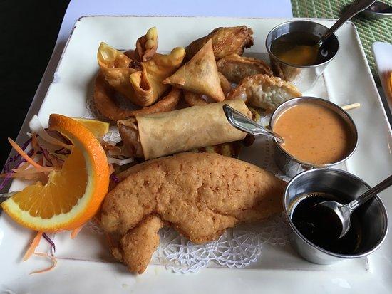 South Portland, ME: appetizer sampler for one