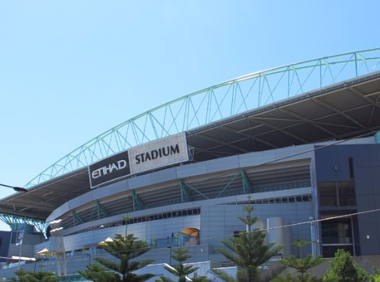Photo of Parking Etihad Stadium Car Park at 740 Bourke St., Docklands, VI 3008, Australia