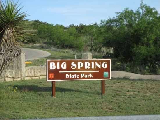 Big Spring, TX: We are here.