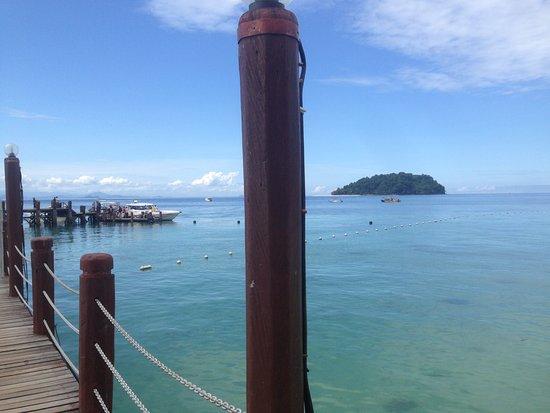 Manukan Island, Malasia: The jetty