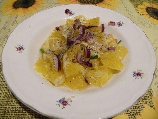 Casteldaccia, Italy: Sicilian Orange Salad