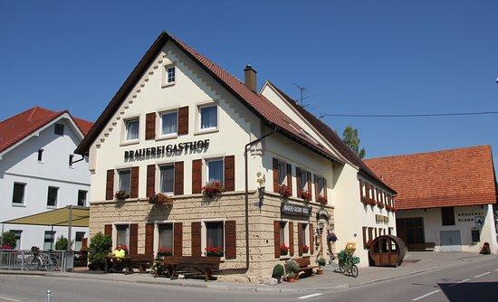 Blank's Brauereigasthof: Brauereigasthof Blank Außenansicht