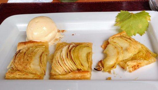 Bodega Bouza: torta de maçã