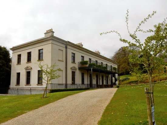 Ballyfin Demesne: The 5 new bedrooms, connected to main building.