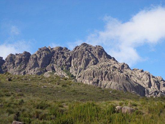 Itatiaia, RJ: Vista do início da trilha.
