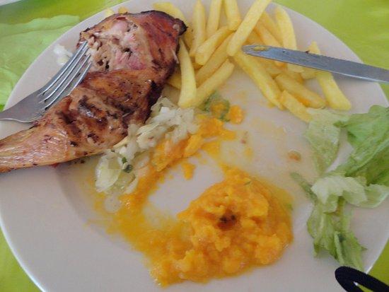 Iles des Saintes, Guadeloupe: repas