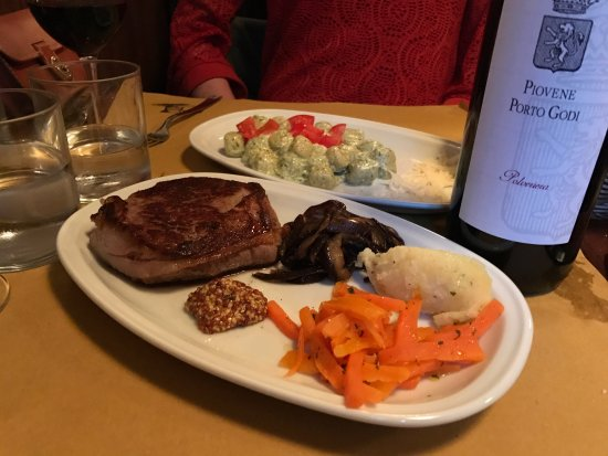 Ristorante La Bitta: Delicious Gnocchi and Steak