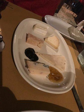 Ristorante La Bitta: Cheese Plate with Balsamic Jam!