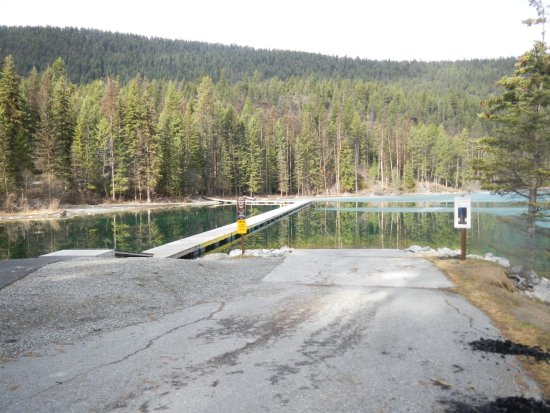 Skookumchuck, Kanada: Good boat launch