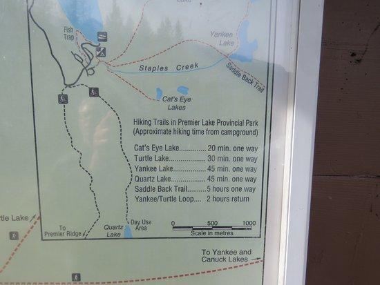Skookumchuck, Kanada: Tempting hikes