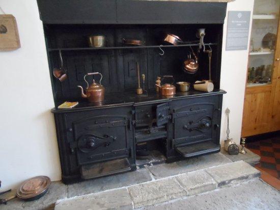 Samlesbury Hall: Old cooking room