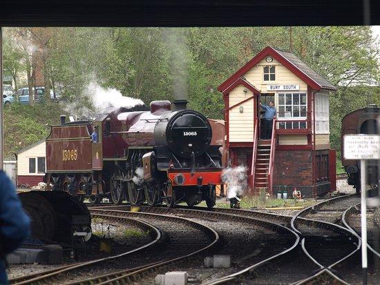 Bury, UK: Our train