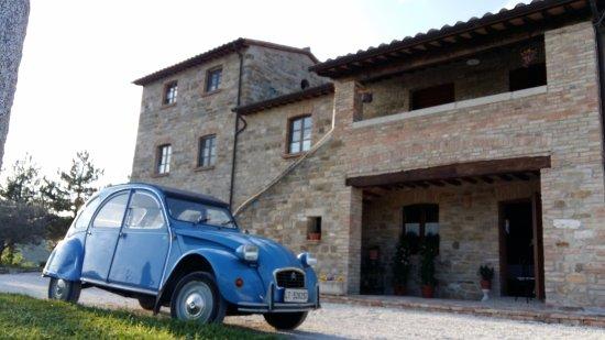 Gualdo Tadino, Italia: Tramonto al Casalino