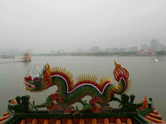 Dragon Tiger Tower : view from the pagoda