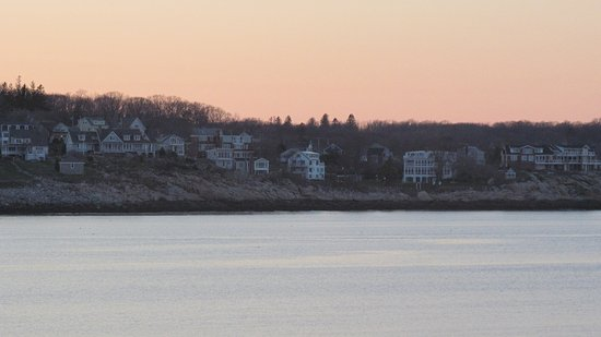 Rockport, MA: A view from the restauran's window
