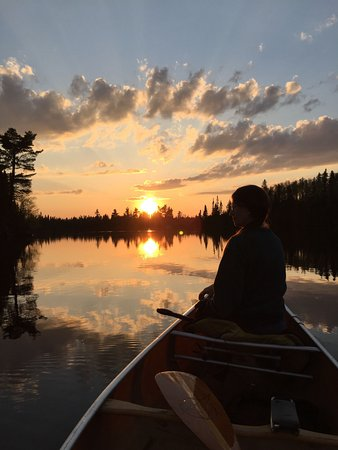 Grand Marais, MN: Canoeing in BWCA with B&B guests