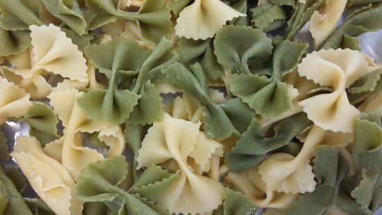 Thornton-Le-Dale, UK: Our hand made Farfalle 'Butterflies'
