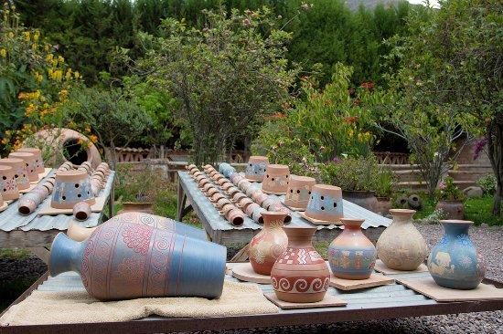 Ceramicas Seminario : Algunos de nuestros trabajos en secado - Some of our work been dried