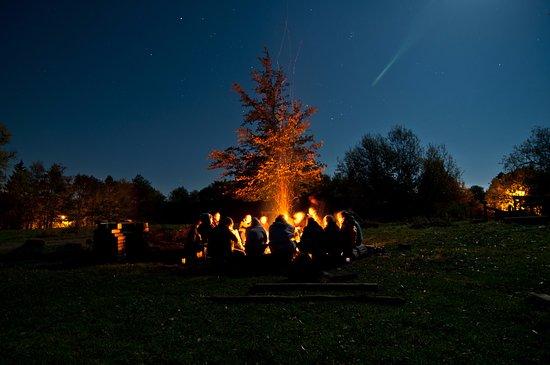 Campfire at Mystic Quarry - A Cruise Inn Park