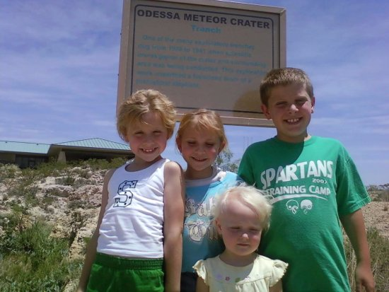 Odessa Meteor Crater and Museum: Odessa Meteor Crater