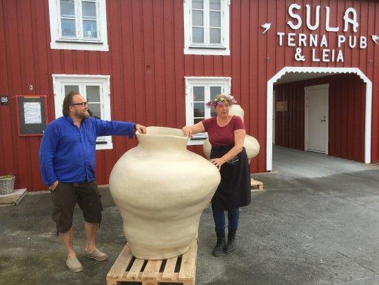 Сер-Тренделаг, Норвегия: Vi digger kunst!
