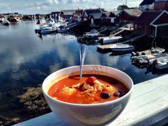 Сер-Тренделаг, Норвегия: Vår berømte sydlandske fiskesuppe