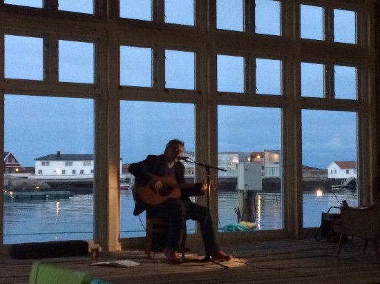 Sor-Trondelag, Norway: Konsert i kvitbrygga på Terna