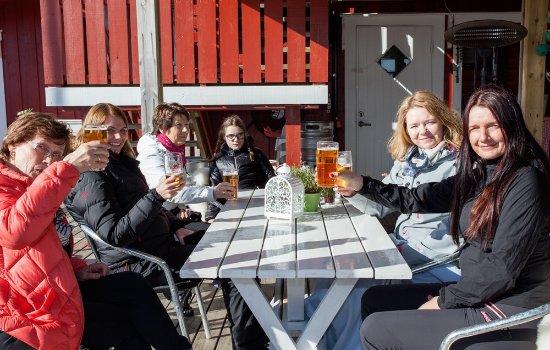 Sor-Trondelag, Norway: God stemning i vårsola
