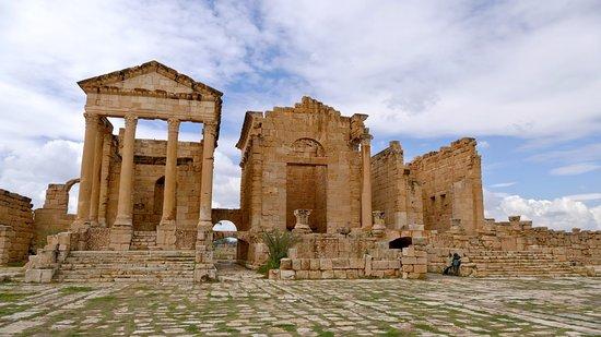Autre Tunisie Day Tours : Sbeitla (Roman)