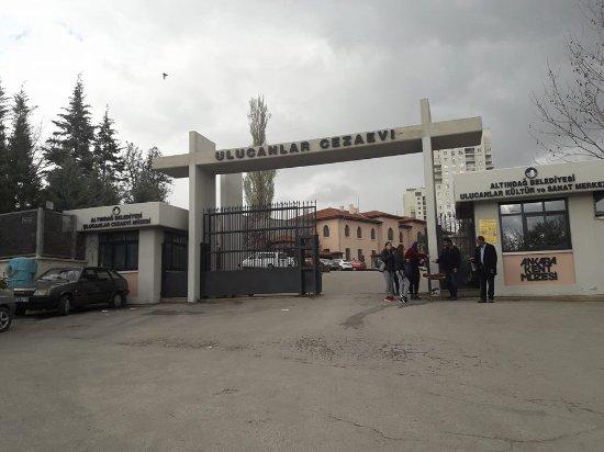 Dış kapı - Picture of Ulucanlar Prison Museum, Ankara ...