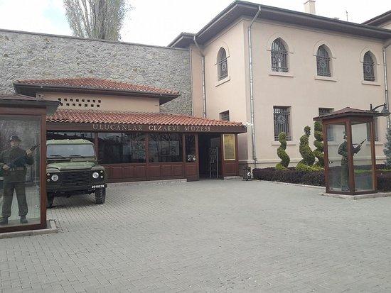 Cezaevi giriş - Picture of Ulucanlar Prison Museum, Ankara ...
