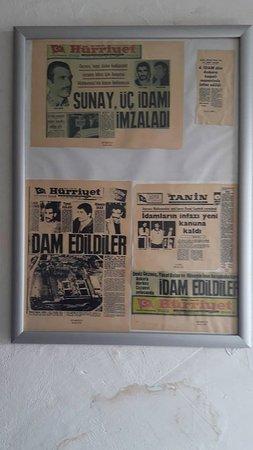 Koğuş duvarlarından - Picture of Ulucanlar Prison Museum ...