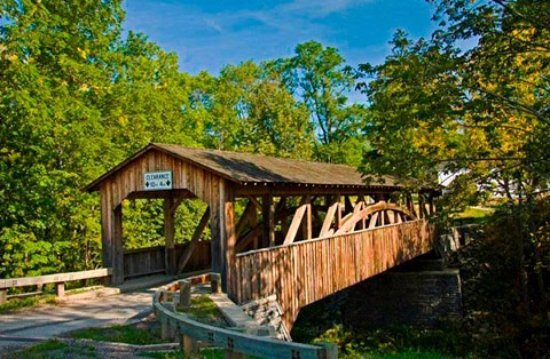 Towanda, Pensilvania: Knapps Covered Bridge