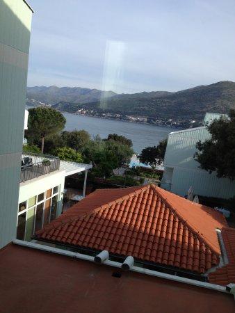 Valamar Club Dubrovnik: Vistas desde el pasillo