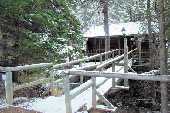 Lutsen, MN: Cabin #11, surrounded by waterfalls and streams