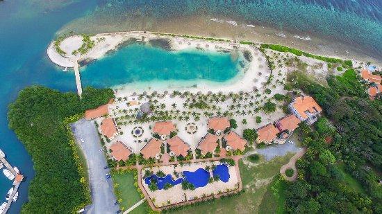 Parrot Tree Beach Resort Aerial View