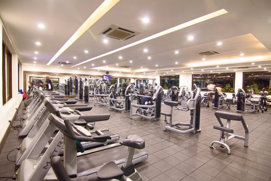 The Nordic Villa: When staying at Nordic Villa you can use BluCabana gym free of charge