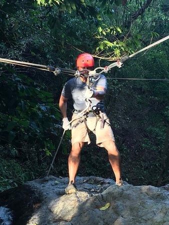 Puerto Jimenez, Costa Rica: water rappelling
