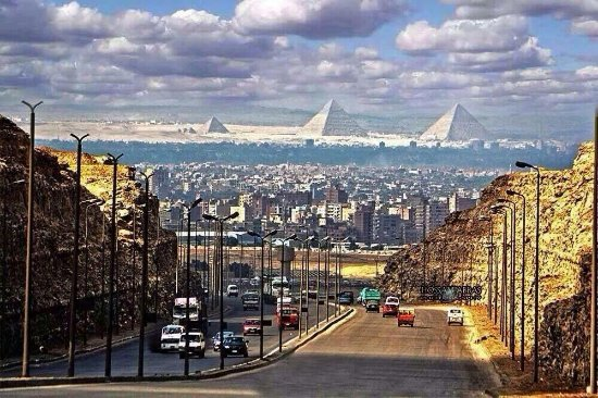 Gouvernement Kairo, Ägypten: Pyramids View