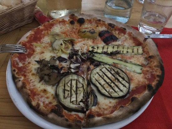 Da Pedro: Pizza vegetariana