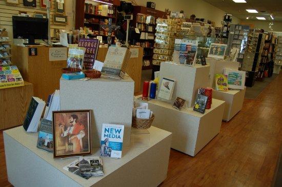 Fairfax, VA: We stock Catholic and Christian books and gifts.