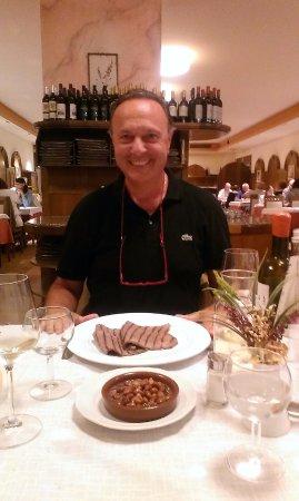 Джустино, Италия: Piatto della tradizione trentina - salada con fasoi
