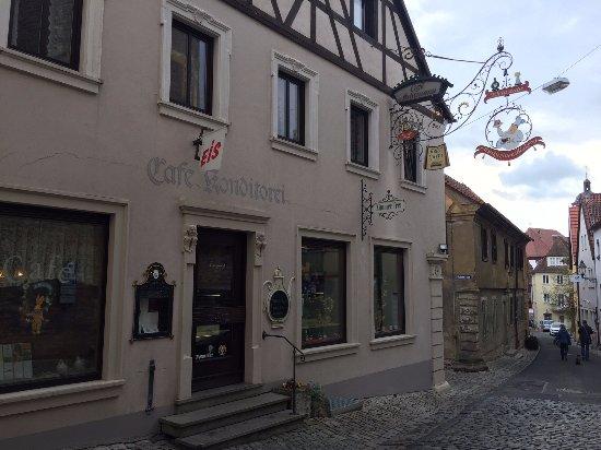 Dettelbach, Alemania: Café Achtmann