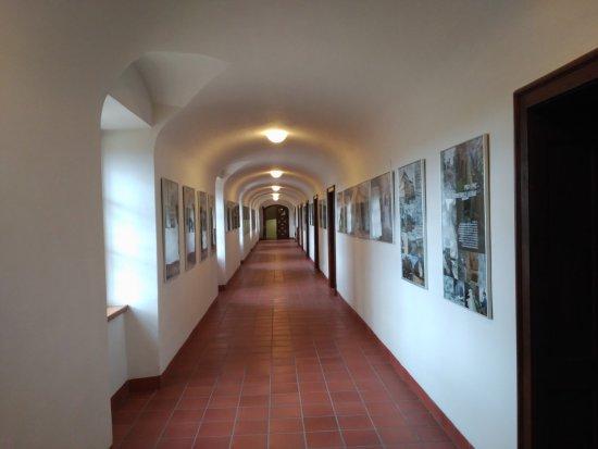 Brno, Republik Ceko: Interior del castillo